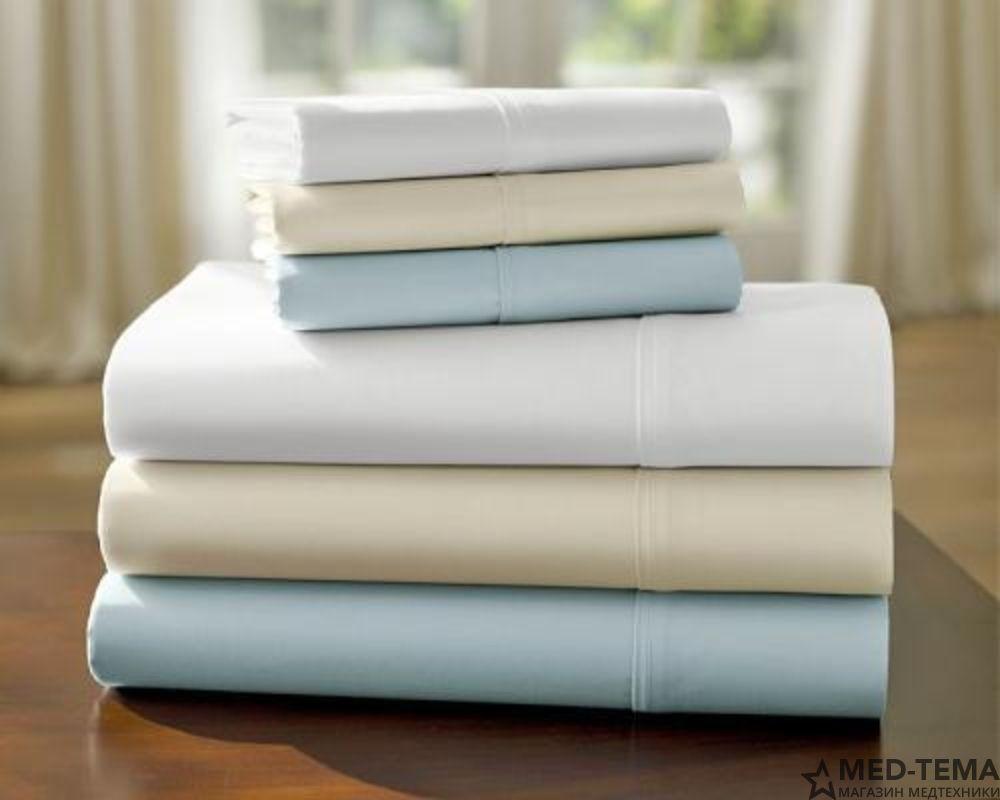 Комплект белья для медицинских кроватей с туалетным устройством
